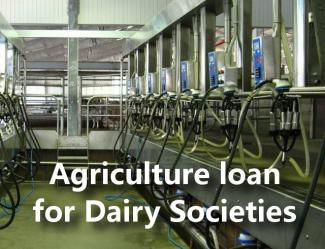 SBI Agriculture Loan - Scheme For Dairy Societies
