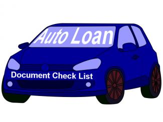 Check List Of Documents For SBI Auto Loans