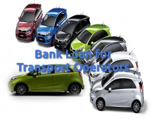 Bank Loan for Transport Operators