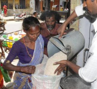 Distribution of Ration Articles Issued Through Ration Shops