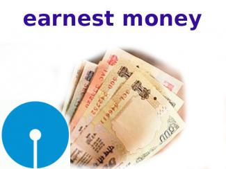SBI Earnest Money Deposit Loan