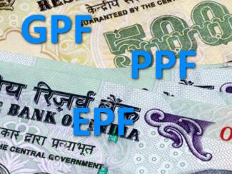 Provident Fund - General Provident Fund (GPF) and Public Provident Fund (PPF)