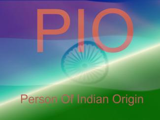 Person of Indian Origin (PIO)