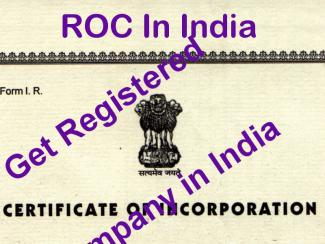 Registrar Of Companies (ROC) in India