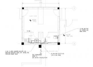 Sample CAD drafting work