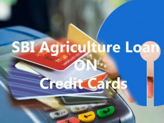 SBI Agriculture Loan - Various Schemes On Credit Cards
