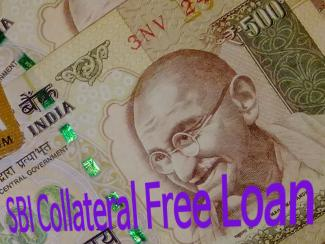 SBI Collateral Free Loan