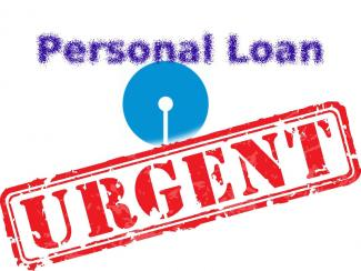 Urgent or Emergency Personal Loan - SBI Saral Personal Loan